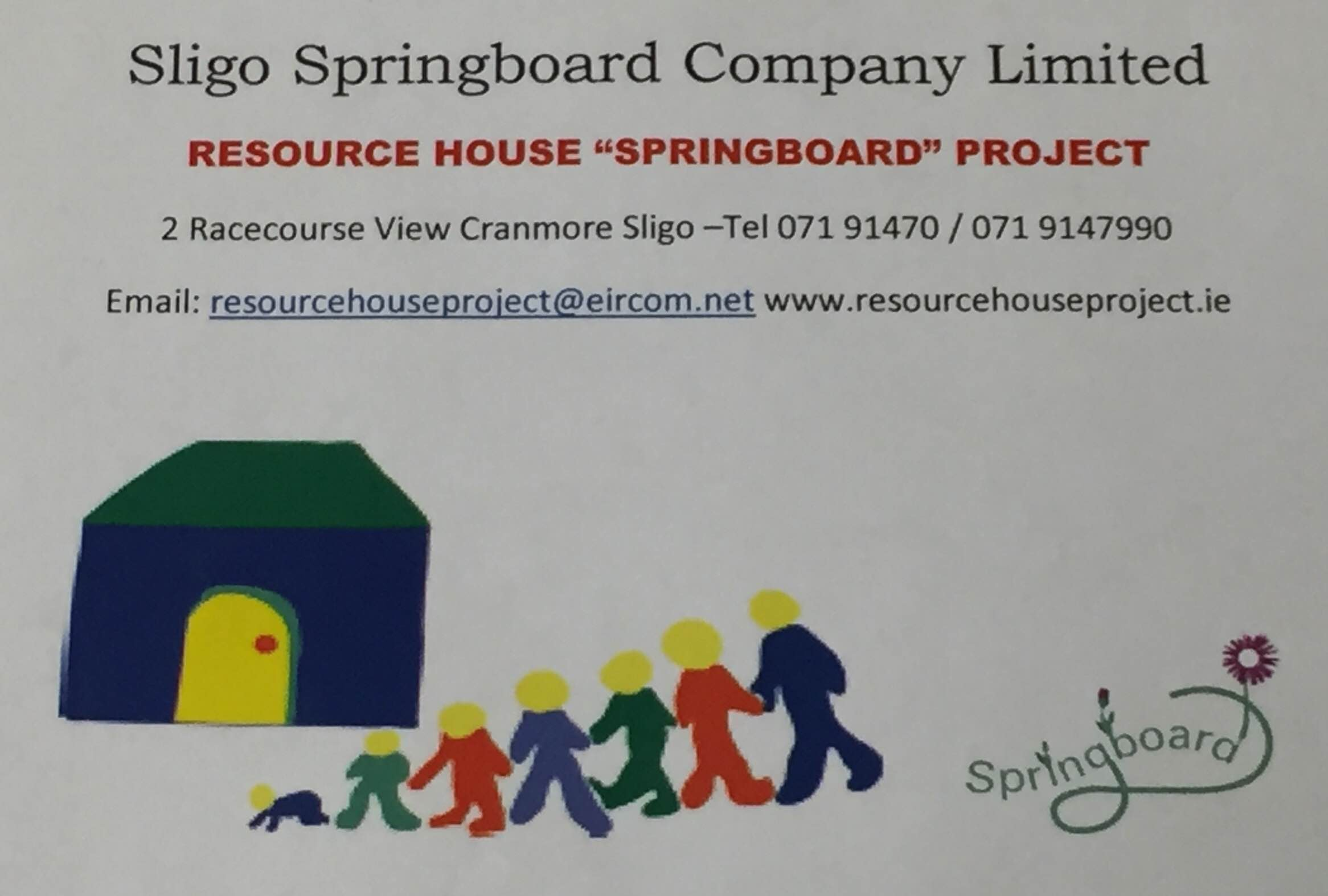Sligo SPRINGBOARD Resource House Project